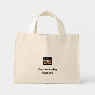 Custom leather handbag bags
