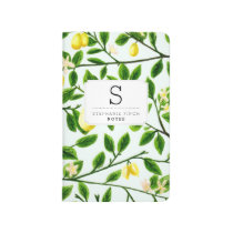Custom Lemon Tree Print Journal
