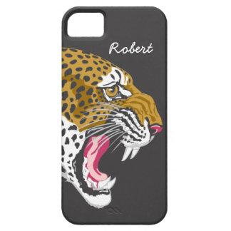 Custom Leopard iPhone 5 Case