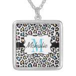 Custom Leopard Print Multi Colors Necklace