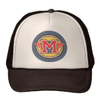 """Custom Letter """"M"""" Deco Design Trucker Hat"""