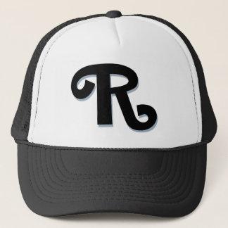 """Custom Letter """"R"""" Trucker Hat"""