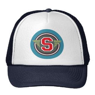 """Custom Letter """"S"""" Deco Design Trucker Hat"""