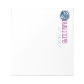 Custom Letterhead Note Pads 5.5 X 6 by CREATIVEBRANDS at Zazzle