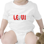 custom LEVI rock and roll shirt