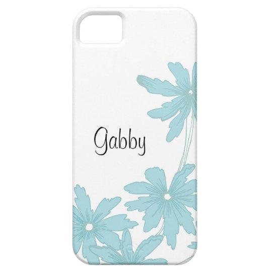 Custom Light Blue Daisies iPhone 5 Case-Mate