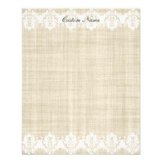 Custom Linen & Lace Pretty Flyer