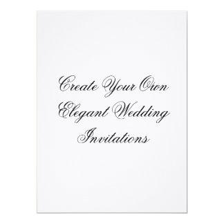 Custom Linen Wedding Invitations Create Your Own