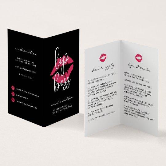 Custom lip product distributor tips tricks business card zazzle custom lip product distributor tips tricks business card colourmoves