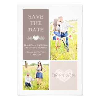 CUSTOM LISTING | SAVE THE DATE ANNOUNCEMENT
