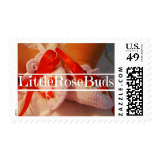 "Custom ""Little Rose Buds"" Stamps"