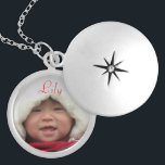 "Custom Locket with Photo<br><div class=""desc"">Custom Locket with photo and child name. Available in three finishes and can be customized to suit your personal taste. A lovely gift for mom,  grandma,  or a special little girl!</div>"
