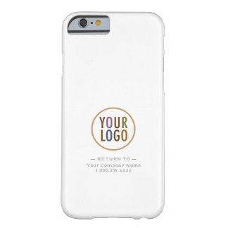 Custom Logo Branded Barely There iPhone 6 Case