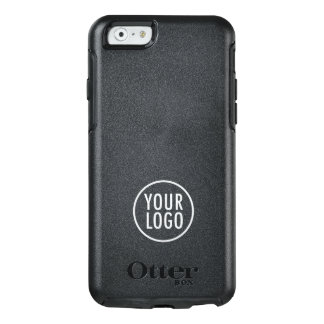 Custom Logo Branded Black Symmetry OtterBox iPhone 6/6s Case