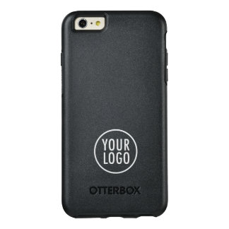 Custom Logo Branded Black Symmetry OtterBox iPhone 6/6s Plus Case