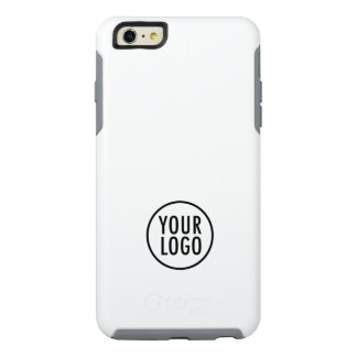 Custom Logo Branded White Symmetry OtterBox iPhone 6/6s Plus Case