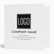 Custom Logo Business 3 Ring Binder