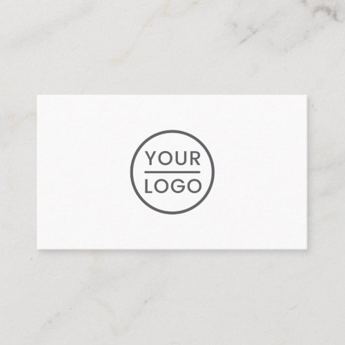 Custom logo business cards _ any color background
