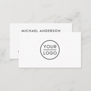 Background business cards zazzle custom logo business cards any color background reheart Images