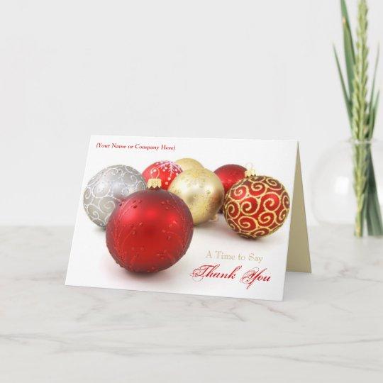 Custom Logo Business Christmas Cards