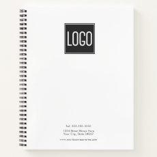 Custom Logo | Business Notebook
