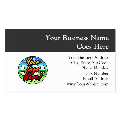 Custom Logo Corporate Gift Business Card Template