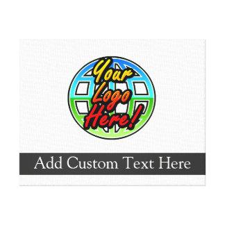 Custom Logo Corporate Gift Canvas Print
