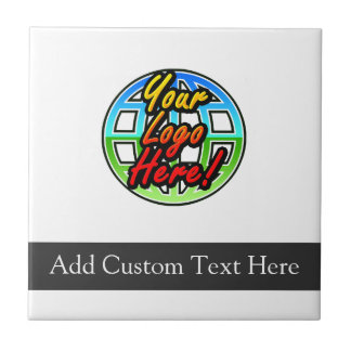 Custom Logo Corporate Gift Ceramic Tile