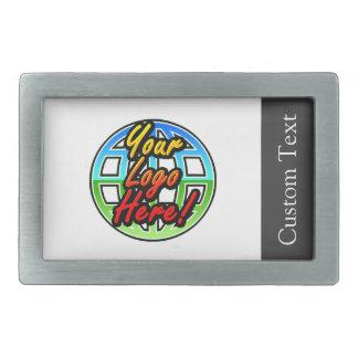 Custom Logo Corporate Gift Rectangular Belt Buckle