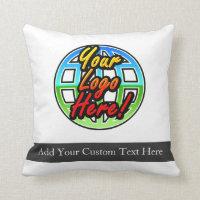 Custom Logo Corporate Gift Throw Pillow