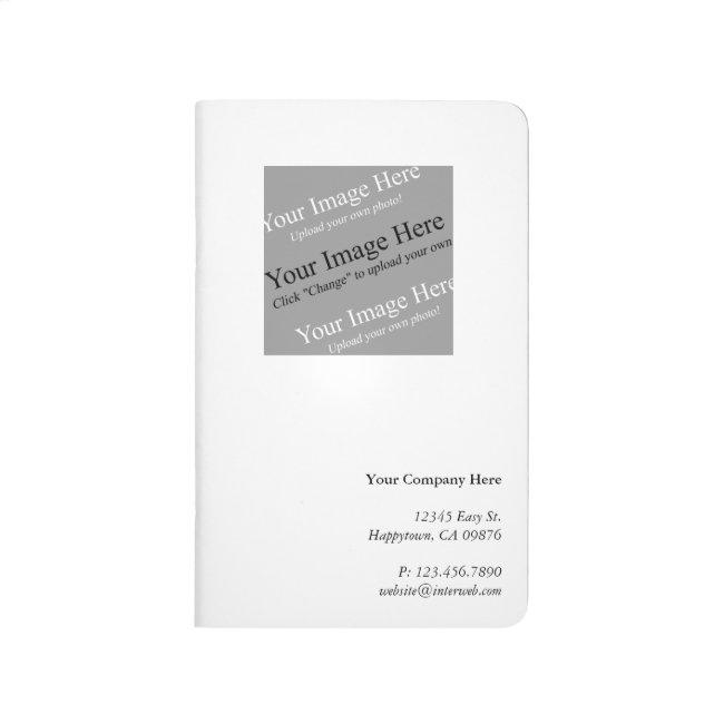 Custom Logo Corporate Giveaway Pocket Journal