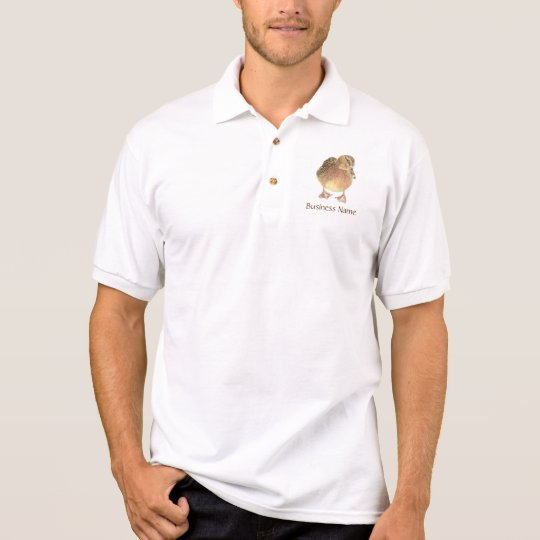 Custom Logo Duck Bird Business Polo Shirt Zazzle Com