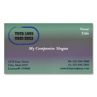 Custom Logo Fig Gradient Magnetic Business Card