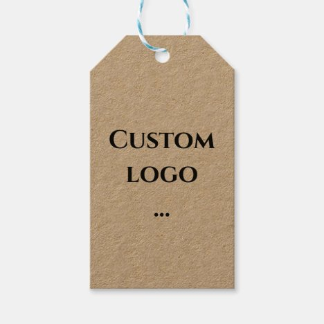 Custom logo gift tag, replacement your logo gift tags