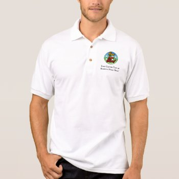 Custom Logo Golf Shirt  No Minimum Quantity Polo Shirt by cutencomfy at Zazzle