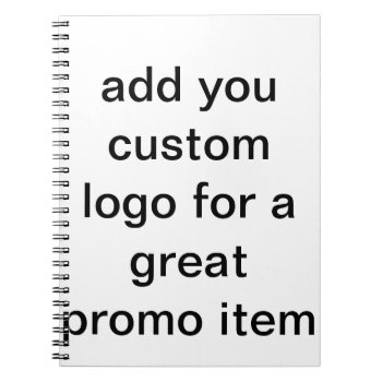 Custom Logo Journal Pages With Logo Design by CREATIVEforBUSINESS at Zazzle