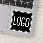"Custom Logo Marketing Sticker<br><div class=""desc"">Custom logo vinyl stickers featuring your own business logo. Great for advertising your company,  add them to any product you like!</div>"