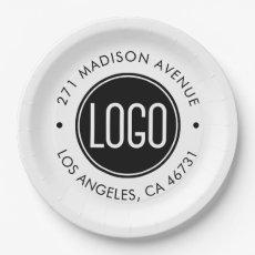 Custom Logo Paper Plate