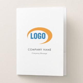 Custom Logo Pocket Folder
