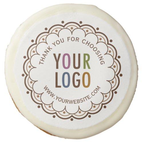 Custom Logo Sugar Cookies Corporate Thank You Gift