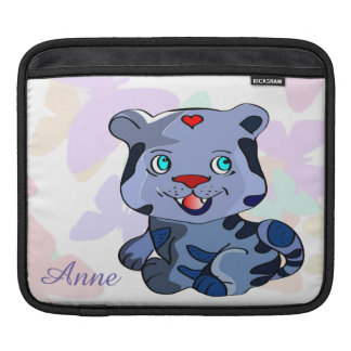 Custom love baby lion cartoon sleeves for iPads