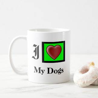 Custom Love Dogs Mug