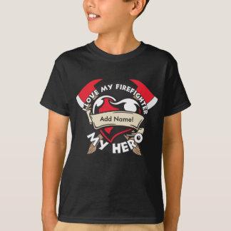 Custom Love My Firefighter T-Shirt