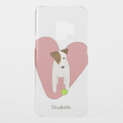 Uncommon Samsung Galaxy S9 Clearly™ Deflector Case with Jack Russell Terrier Phone Cases design