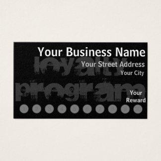 Custom Loyalty Punch Card
