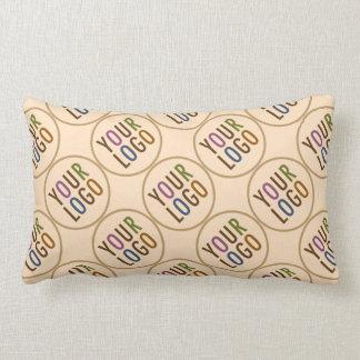 Custom Lumbar Pillow with Your Company Logo
