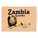 Custom  Lusaka, Zambia Card