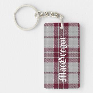 Custom MacGregor Tartan Plaid Key Chain