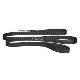 Custom MacLellan Plaid Dog Leash