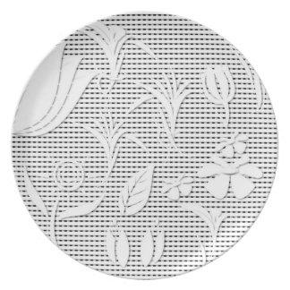 Custom made designer plates
